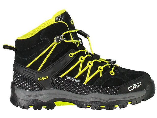 CMP Campagnolo Rigel Mid WP Trekking Shoes Kinder nero-limeade